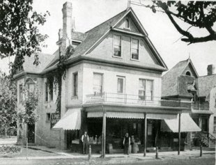 (1912) 1Five Point Grocery Store