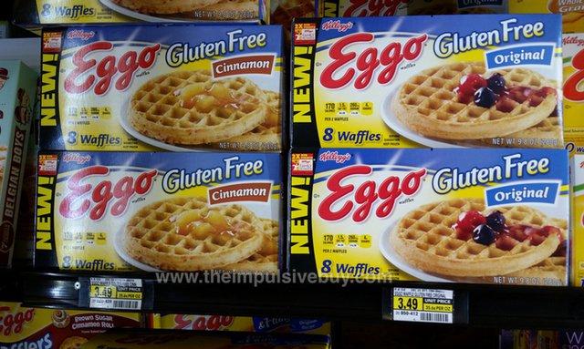Kellogg's Gluten Free Eggo Waffles (Original and Cinnamon)