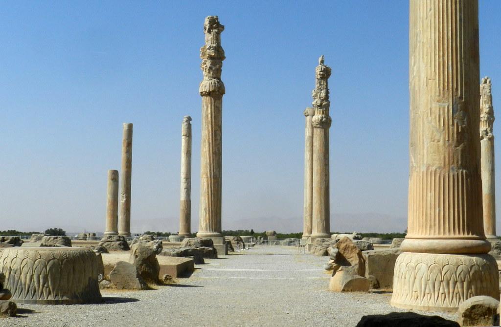 Via de las Procesiones Persépolis Irán 01