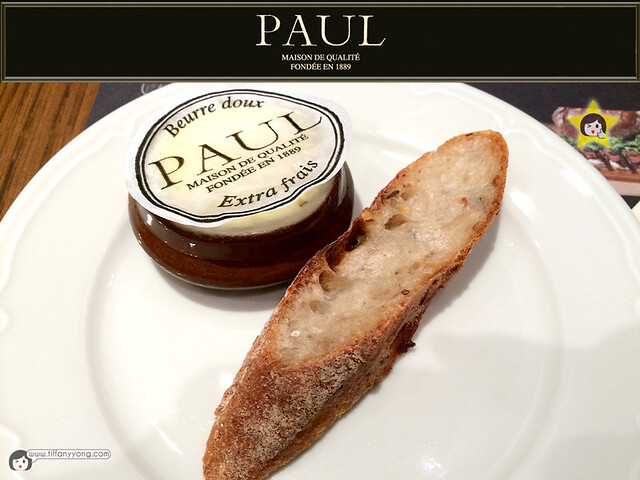 PAUL bread and butter