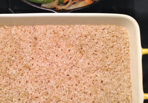 brown rice for burrito bowls