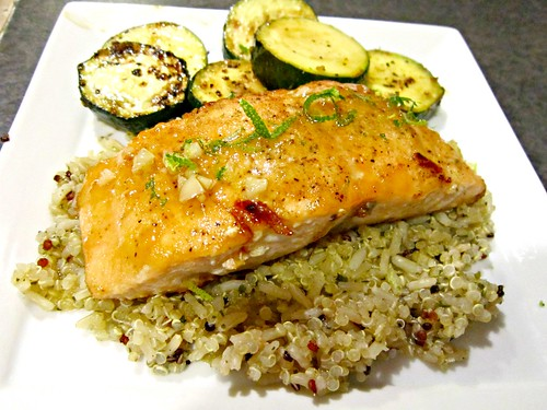 Honey Glazed Salmon 2
