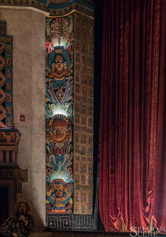 Mayan Theater, stage left