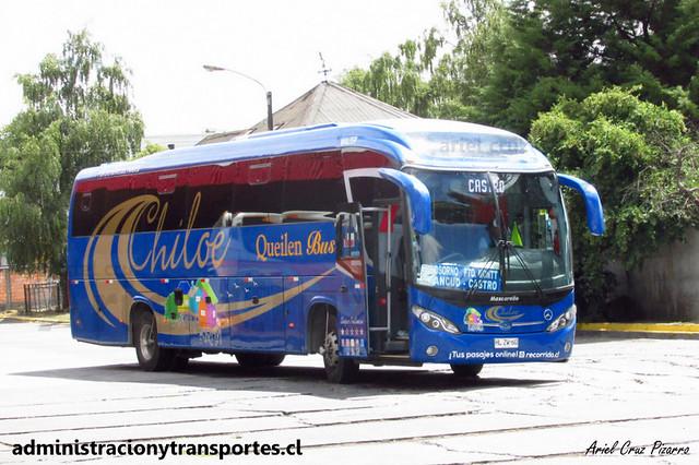 Queilen Bus (33) - Osorno - Mascarello Roma 350 / Mercedes Benz (HLZW60)