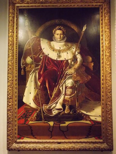 Napoleão Bonaparte retratado como César