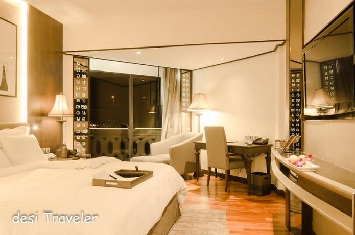 Room at Anantara Riverside Resort Bangkok
