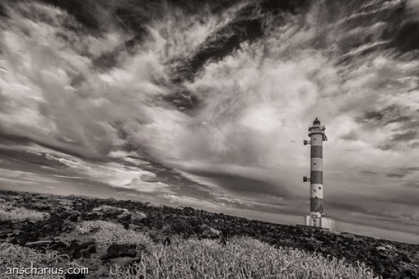 Lighthouse near Abades #1 - Nikon 1 V1 - Infrared 700nm