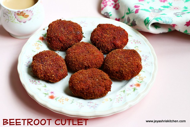 beetroot-cutlet