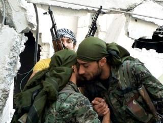 Kurdish YPG Fighters from Flickr via Wylio