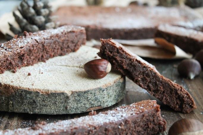 Fondant chocolat marron sans gluten
