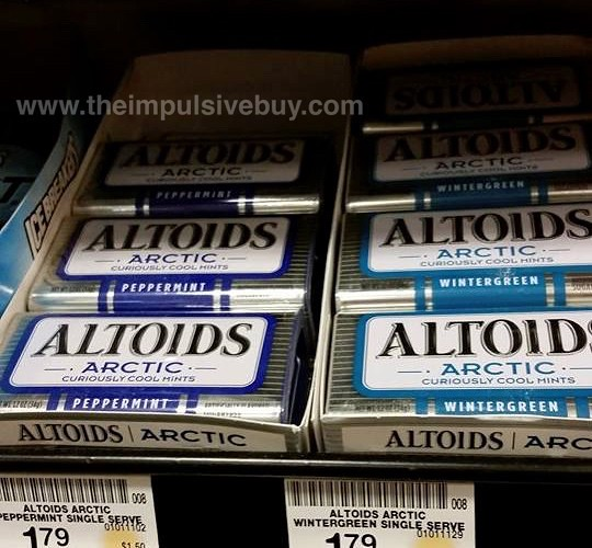 Altoids Arctic (Peppermint and Wintergreen)