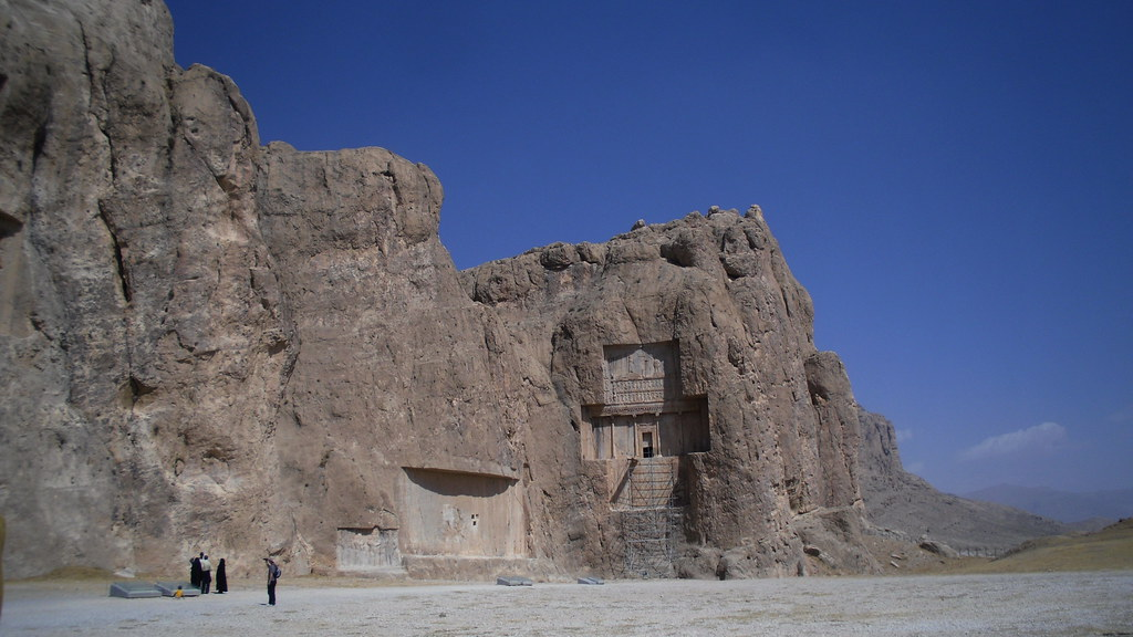 Naqsh-e Rostam Tumba de Jerjes I Irán 004