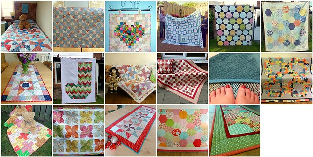 My year in quilts 2014