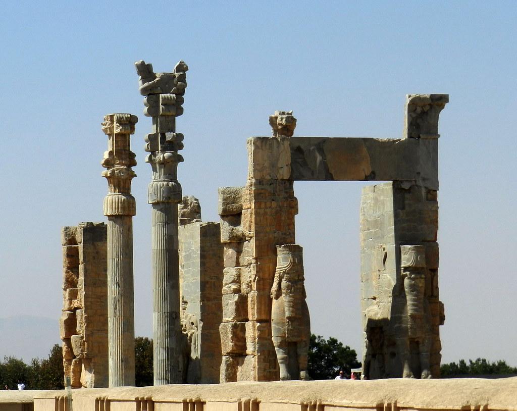 Puerta de todas las Naciones Persépolis Irán 05