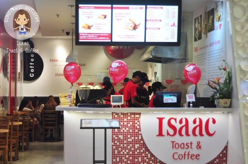 Isaac Toast & Coffee @ Queensbay Mall