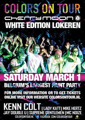 Poster Colors on Tour Lokeren