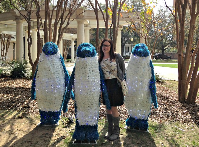 Me with penguins