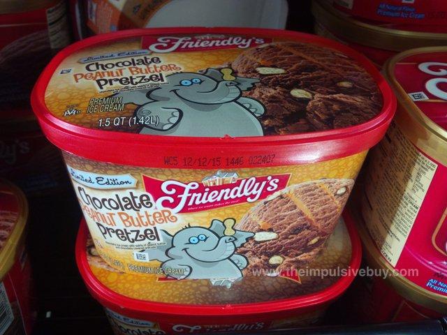 Friendly's Limited Edition Chocolate Peanut Butter Pretzel