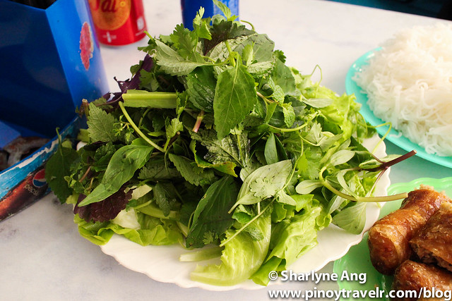 Different Vegetables for Bun Cha