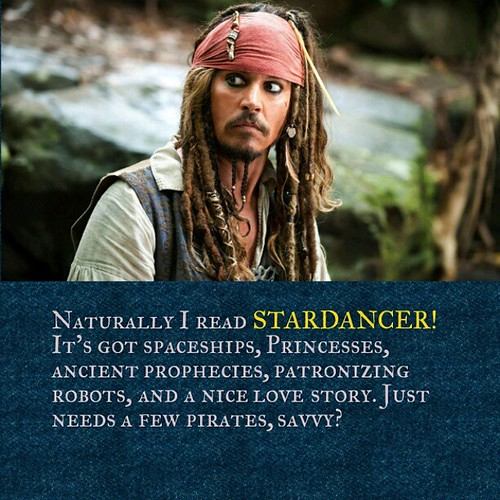 And the author sometimes wrote it while drinking rum! #Stardancer #ShamelessSelfPromotion