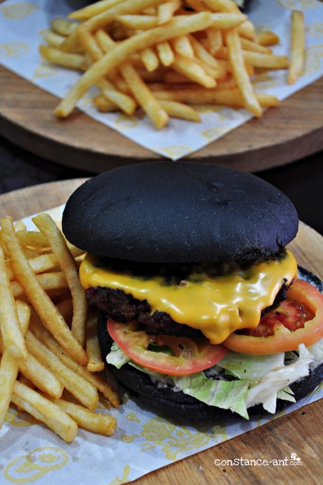 Charcoal Burger @ New York Pizza