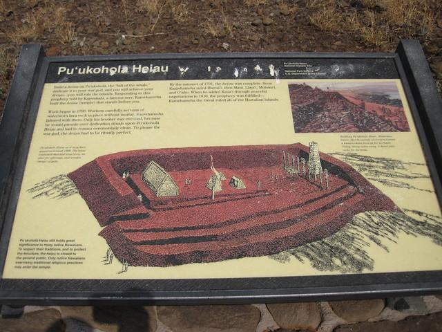 Picture from Pu'ukohola Heiau