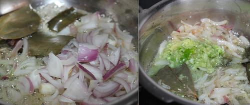 Peas Pulao step2