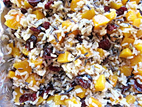 Butternut & Cranberry Pilaf