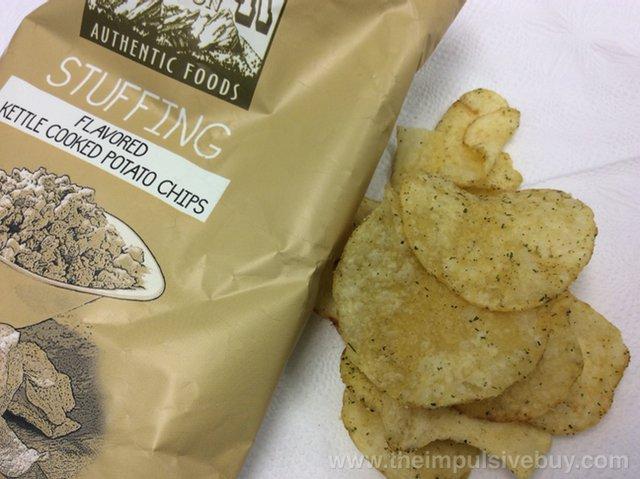 Boulder Canyon Thanksgiving Feast Potato Chips Stuffing