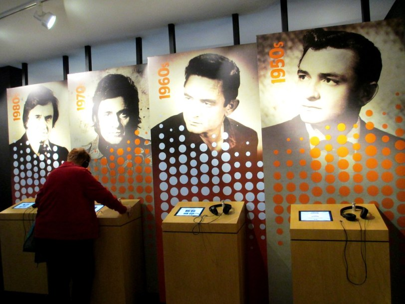 Through the Decades - Johnny Cash Museum, Nashville, Tenn., Nov. 2014
