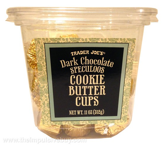 Trader Joe's Dark Chocolate Speculoos Cookie Butter Cups