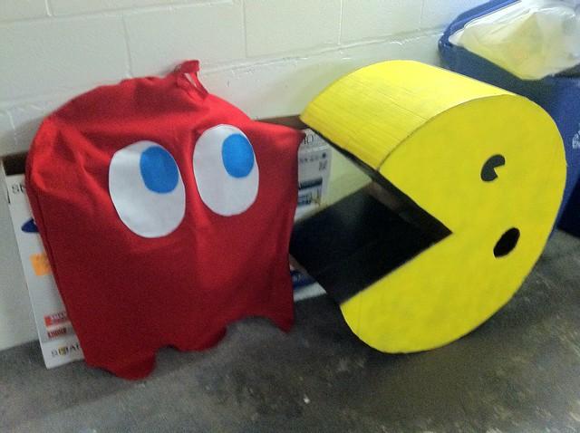 Pacman in garage
