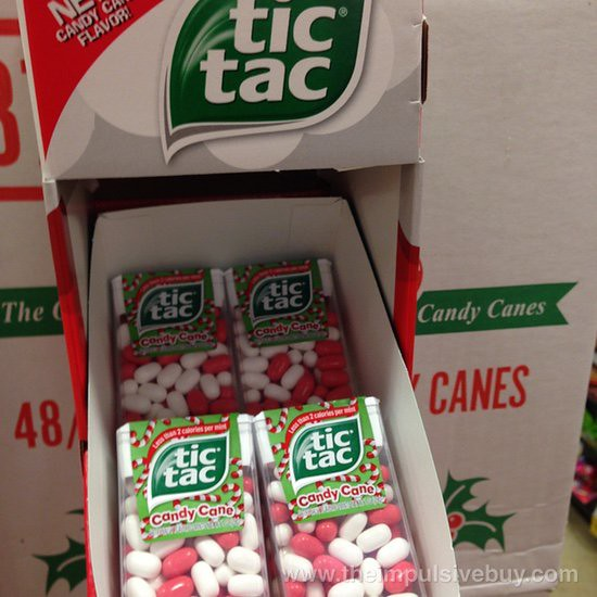 Candy Cane Tic Tac
