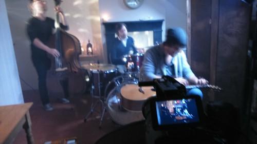 Filming Daryl Kellie