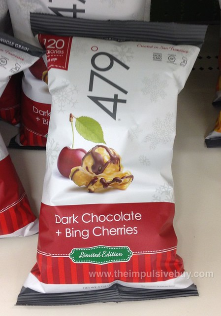 479 Degrees Limited Edition Dark Chocolate + Bing Cherries Popcorn