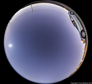 180 degrees of Night Sky