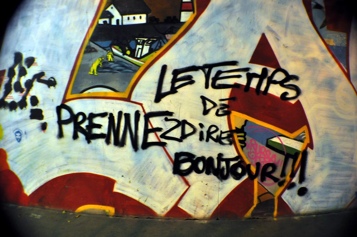 PRENEZ LE TEMPS DE DIRE BONJOUR !!!