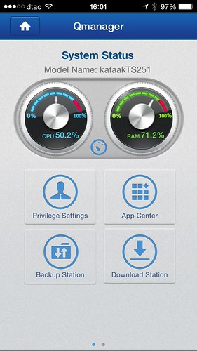 Qmanager บริหารจัดการ QNAP TS-251 ได้ง่ายๆ จากสมาร์ทโฟน