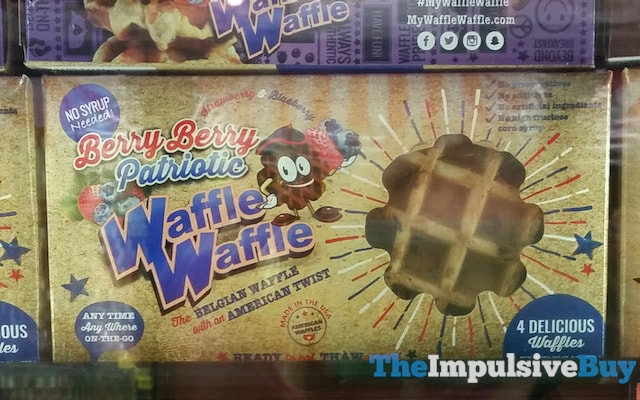 Berry Berry Patriotic WaffleWaffle
