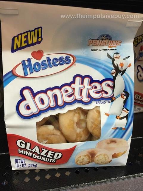 Hostess Donettes Glazed Mini Donuts
