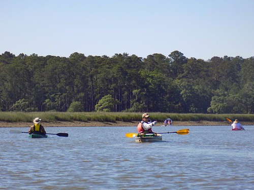 May River Paddling with Lowcountry Unfiltered-1