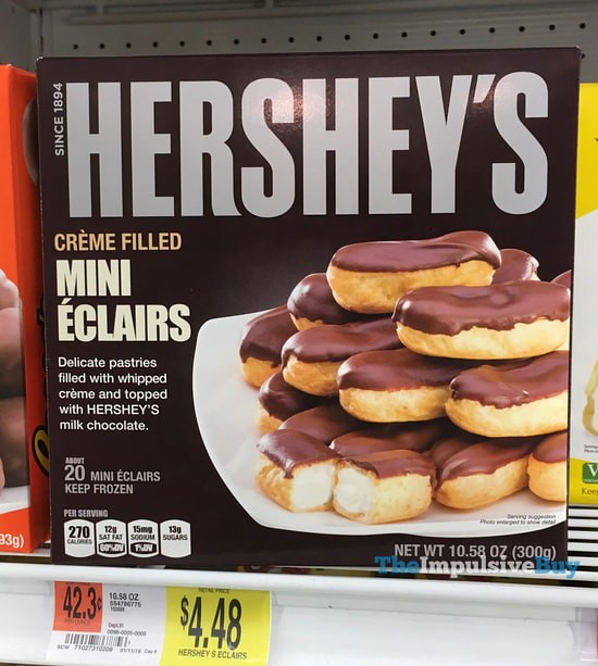 Hershey's Mini Eclairs