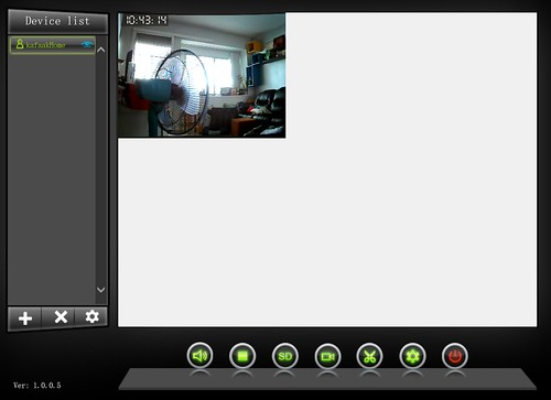 ดูภาพจากกล้องผ่านเบราวเซอร์ (ที่ภาพเล็ก เพราะผมดูบนจอคอมฯ ความละเอียด QHD)