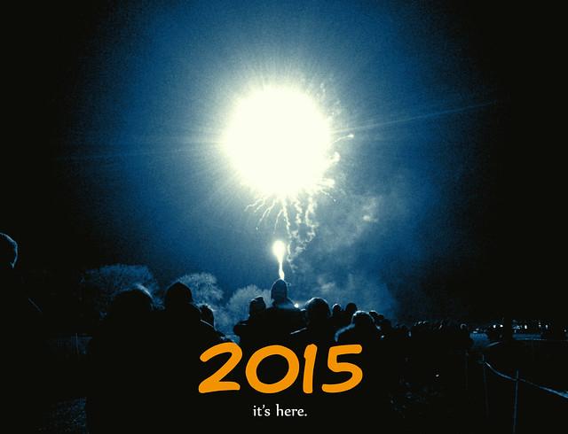 2015 It's here photo