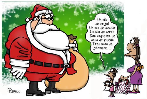 Santa en apuros