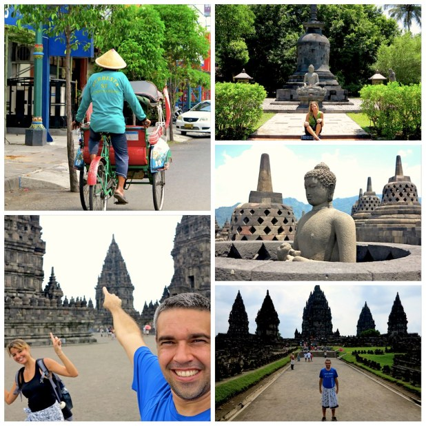 Visitamos Yogyakarta, Prambanan y Borobudur