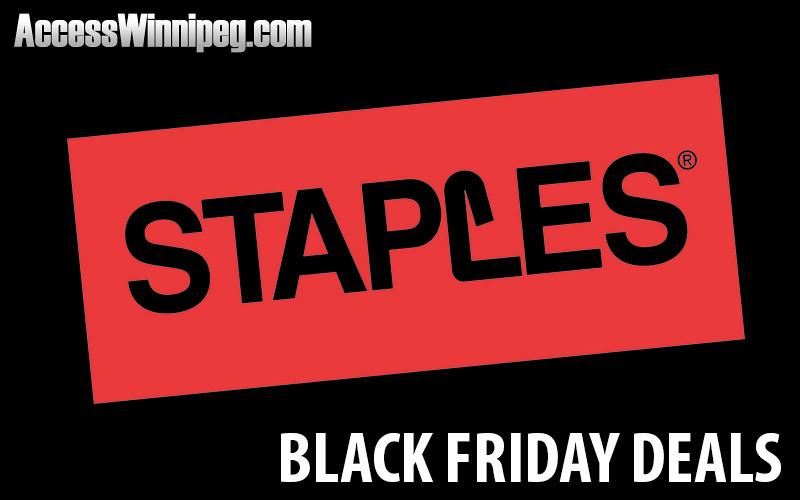 Staples Canada Black Friday Deals 2017