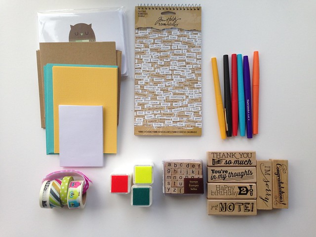 Letter writing box