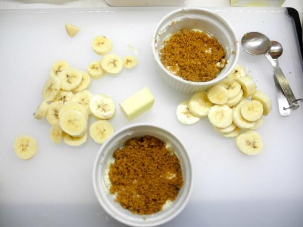 Banana Tartes Tatin Ingredients