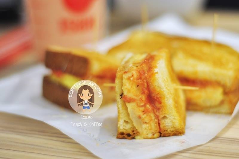 Isaac Toast & Coffee @ Queensbay Mall